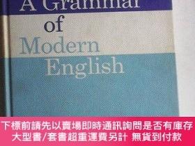 二手書博民逛書店A罕見Grammar of Modern English 英文原版精裝Y83259 W.H.Mittins M