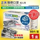 (雙鋼印 獨家款) 正洸 醫療口罩 醫用口罩 (畢卡索圖騰)-50入/盒 (台灣製造 CNS14774) 專品藥局