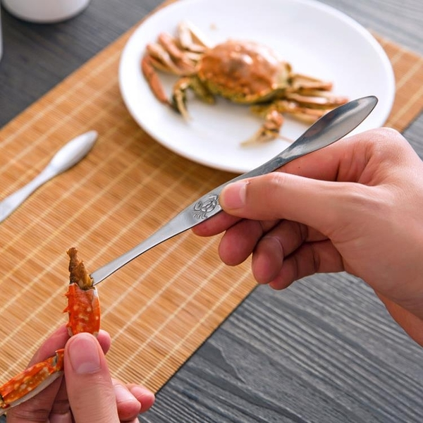 [超豐國際]不銹鋼吃螃蟹蟹鉗的工具海鮮蟹針 剝大閘蟹龍蝦叉子水果