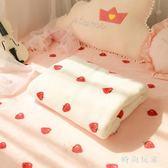 珊瑚絨毯子床單雙人加厚保暖毛毯冬季法蘭絨宿舍單人午睡毯zzy6089『時尚玩家』