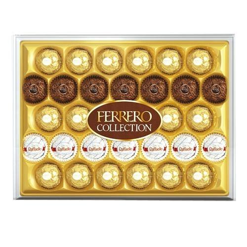 費列羅臻品巧克力32粒禮盒365G【愛買】