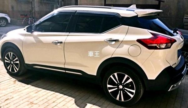【車王汽車精品百貨】Nissan 日產 Kicks 尾翼 定風翼 擾流板 鴨尾翼
