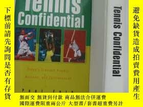 二手書博民逛書店Tennis罕見Confidential:Today s Gre