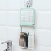 浴室壁掛式鏡子掛式塑料化妝鏡折疊便攜書桌簡約現代公主鏡 聖誕裝飾8折