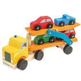 【美國Tender Leaf Toys】雙層運輸拖車(運輸系列)