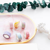 【BlueCat】超mini色彩系列4捲入 和紙膠帶