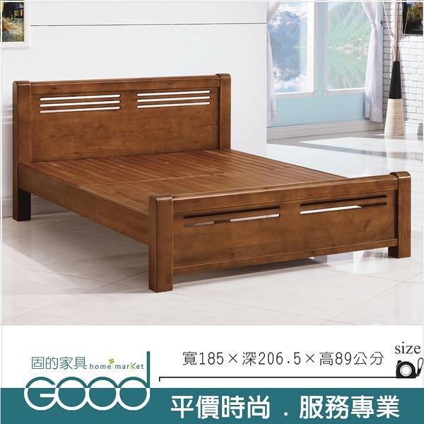 《固的家具GOOD》246-2-AT 羅馬實木6尺床台【雙北市含搬運組裝】