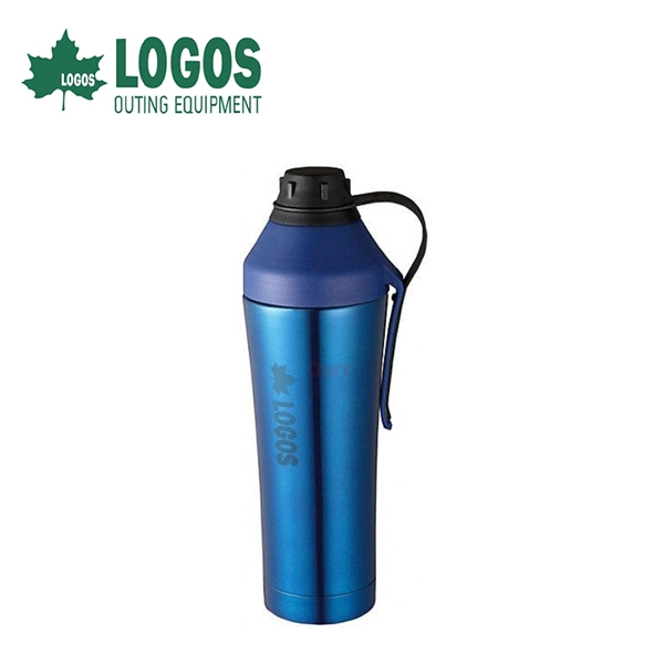 【LOGOS 日本 行動保冷杯《藍》】81287500/運動/水壺