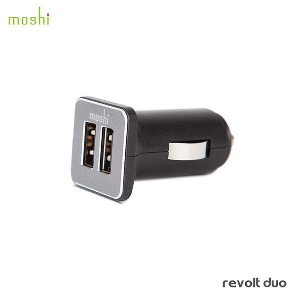 【A Shop】Moshi Revolt Duo 雙端口高效車用充電器 車充