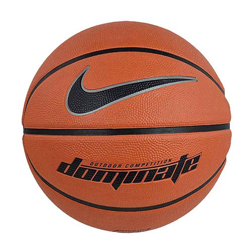 NIKE 7號籃球DOMINATE(橘黑)【愛買】