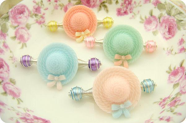 ☆棒棒糖童裝☆兒童寶寶樹脂蝴蝶結帽髮夾彈簧夾拉拉夾