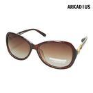 ARKADIUS 偏光太陽眼鏡 2814-茶色