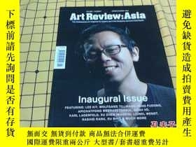 二手書博民逛書店Art罕見Review :Asia , VOLUME1 NUMB