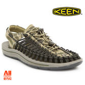 【KEEN】男款 UNEEK 戶外休閒涼鞋-迷彩(1018675)全方位跑步概念館