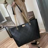 簡約包包女包新款2021手提包女大包大容量側背包網紅高級感托特包  夏季新品