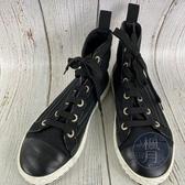 BRAND楓月 CHANEL 香奈兒 黑色 拚色 拚皮 線條 金屬 珍珠 船錨 金色 刺繡 高筒 珍珠 球鞋 帆布鞋