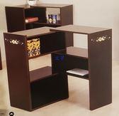 8號店鋪 森寶藝品傢俱 c-19品味生活 客廳  櫥櫃系列M001-R (彩繪)伸縮置物櫃-胡桃色