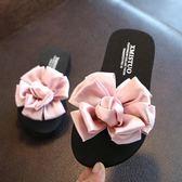 新年大促公主兒童拖鞋女夏季外穿一字拖防滑女童親子鞋可愛花朵沙灘鞋涼拖 森活雜貨