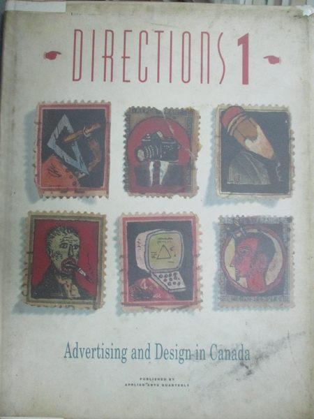 【書寶二手書T2/設計_YGR】Directions I-Advertising and Design in Canad