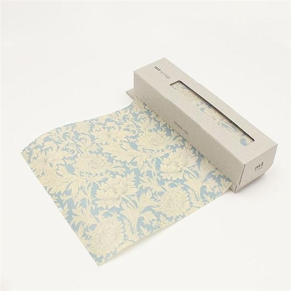 mt WRAP(迷你尺寸) ・William Morris Chrysanthemum Toile mt和紙自黏包裝紙【K..