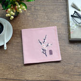 梅蘭竹菊 復古中國風刺繡花手帕