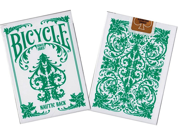 【USPCC 撲克】撲克牌 BICYCLE Nautic 綠International