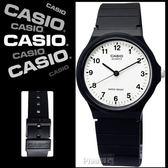 CASIO。卡西歐 / MQ-24-7B / 復古新味‧簡潔復刻數字指針腕錶_白面