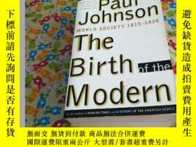 二手書博民逛書店PauI罕見J.Cohen The Birth MOdernY1