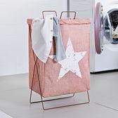 布藝摺疊臟衣籃家用防水洗衣簍裝衣服玩具收納桶大號收納筐洗衣籃限時八九折