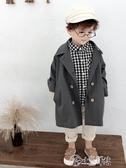 男童外套 童裝男童中長款風衣洋氣寶寶秋裝外套小兒童春秋上衣韓版2019新