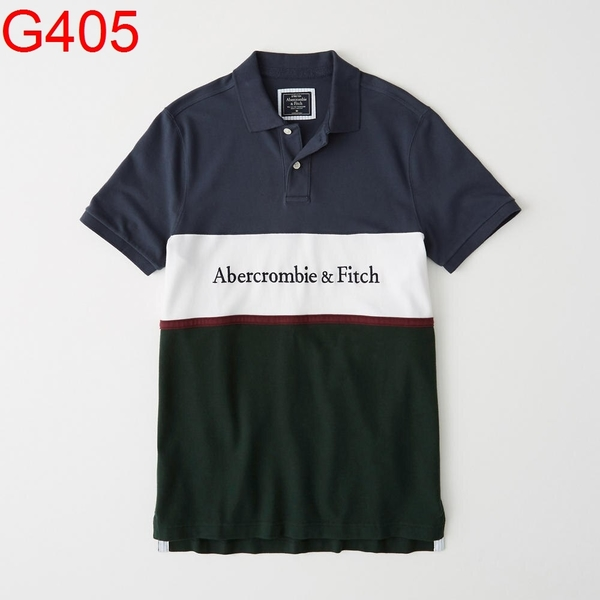 Abercrombie & Fitch AF A&F A & F 男 POLO G405
