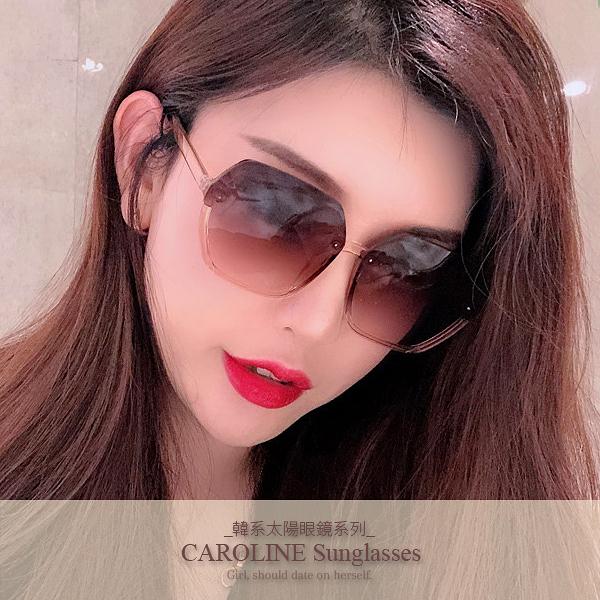 《Caroline》年度最新網紅款潮流百搭抗UV時尚太陽眼鏡 72108