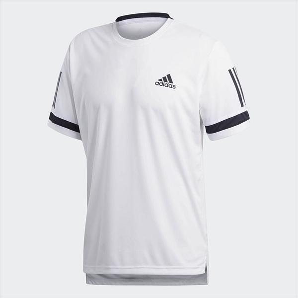樂買網 18SS ADIDAS 男款 短袖 網球T恤 CLUB 3STR TEE系列 CE2032 白色