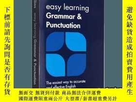 二手書博民逛書店柯林斯輕鬆學英語語法和標點符號用法罕見英文原版字典 Easy L