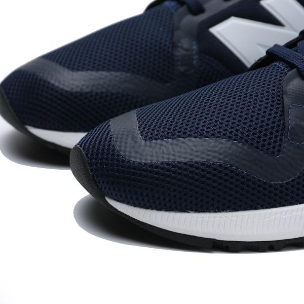 NEW BALANCE 慢跑鞋 NB247 深藍白 網布 後跟支撐 休閒鞋 情侶 男女 (布魯克林) MS247SH3