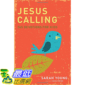 [106美國直購] 2017美國暢銷兒童書 Jesus Calling: 365 Devotions For Kids Hardcover