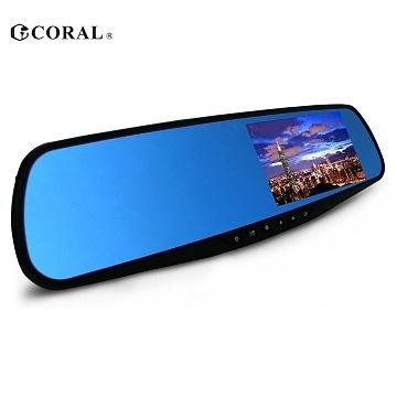 【小樺資訊】開發票 CORAL F1 全新特仕機種 後視鏡型行車記錄器