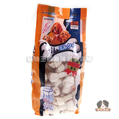 【寵物王國】armonto阿曼特-天然潔牙牛奶牛皮骨結 大包裝(4吋)【40入】1050g