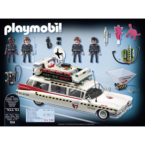摩比積木 playmobil 魔鬼剋星車 Ecto-1A