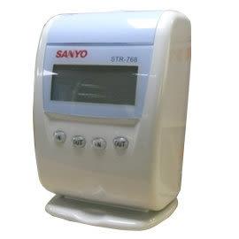 三洋SANYO STR-768 打卡鐘