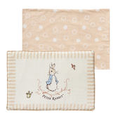 【奇哥】優雅比得兔乳膠枕 (45x30x2.5公分)(附贈替換枕套)