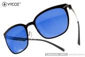 VYCOZ 太陽眼鏡 BUNKER BLKBBK (黑) 薄鋼工藝 水銀鏡面休閒款 # 金橘眼鏡