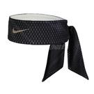 Nike 頭帶 Dri-FIT Head Tie 黑 白 男女款 雙面 忍者頭帶 頭巾 髮帶 【ACS】 N100303994-1OS