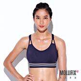 Mollifix 瑪莉菲絲 簡約緩震運動內衣 (藏青)