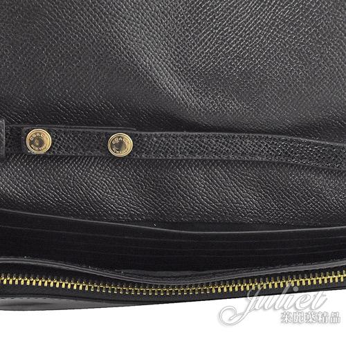 茱麗葉精品【全新現貨】COACH 55615 新款 鉚釘愛心皮夾式斜背包.黑