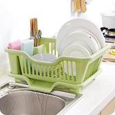 廚房塑料瀝水碗架家用碗筷餐具收納架大號碗碟滴水置物架wy