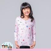 【WIWI】耶誕米奇米妮TsumTsum溫灸刷毛圓領發熱衣(戀愛粉 童100-150)