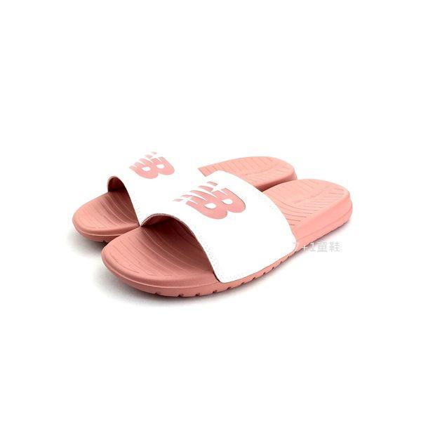 NEW BALANCE SD130WP 輕量 運動休閒拖鞋《7+1童鞋》9377 粉色