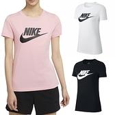 【現貨】Nike NSW Essential 女裝 短袖 T恤 休閒 純棉 粉/白/黑【運動世界】BV6170-632 / BV6170-100 / BV6170-010