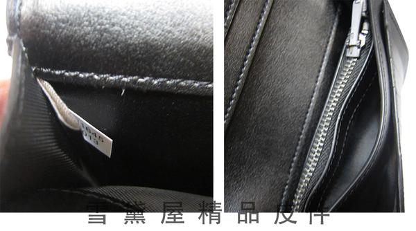 ~雪黛屋~COACH 長皮夾男仕長夾國際正版進口防水防刮皮革二折型主袋品證購證盒品牌塵套提袋